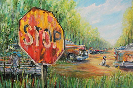 Junkyard Dog by Daniel W Green