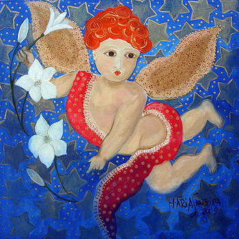 Just a Little Cherubim by Maria Matheus Maria Santeira