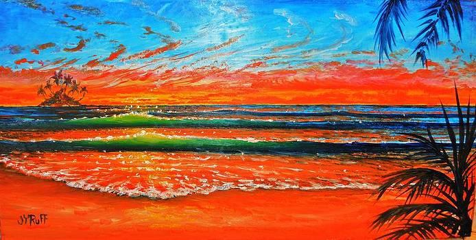 Kailua Beach Sunrise by Joseph   Ruff