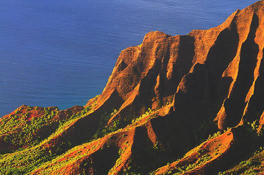Kalalau Valley Sunset in Kauai by Hegde Photos