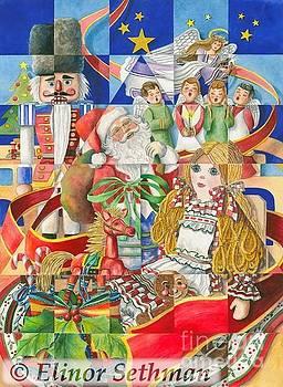Kaleidoscope Of Christmas Past by Elinor Sethman
