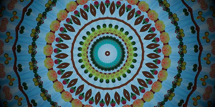 Kaleidoscope Sky by Heather  Hubb
