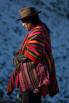 Kallawaya Medicine Man. Republic of Bolivia.  by Eric Bauer