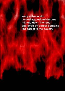 Kampuchean Kids by Steve Mangan