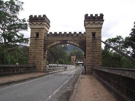 Kangaroo Valley. Hampden Bridge  by Rani De Leeuw