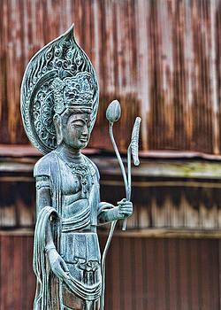 Kannon Bodhisattva by Karen Walzer
