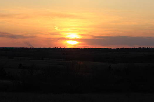 Kansas Sunset by Tabitha Connis