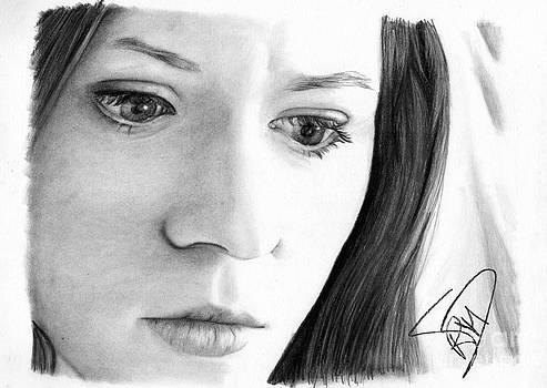Karen Gillan by Rosalinda Markle
