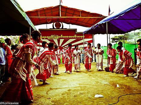 Karen Myanmar celebrating day by Kornrawiee Miu Miu