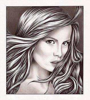Kate Beckinsale by Jamie Warkentin