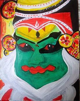 Kathak kali by Sonali Singh