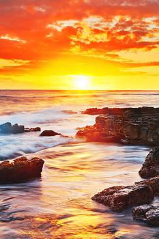 Kauai Sunset by Nolan Nitschke