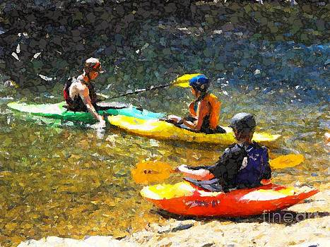 Kayak Class by Annie Gibbons