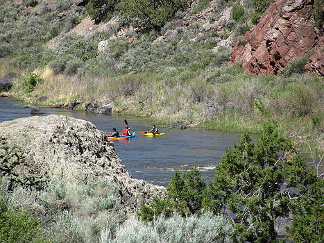 Kayaking in New Mexico by Lindy Spencer