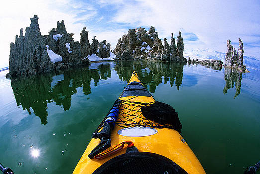 Kayaking Mono Lake, Castle Tufa by Buck Forester