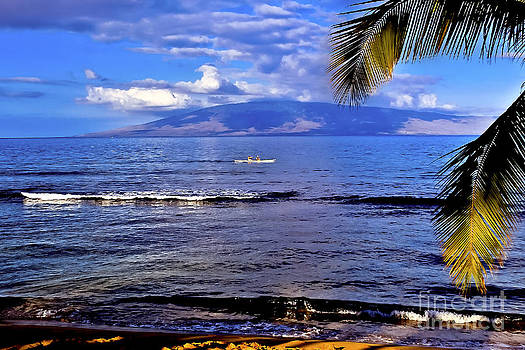Kayaking off Maui by Mark East