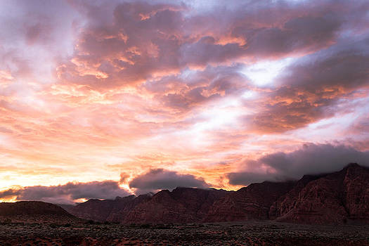 Kayenta Sunset 4 by Chris Fullmer