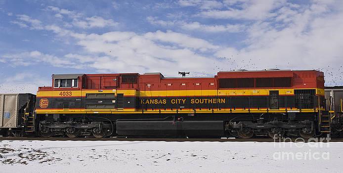 Tim Mulina - KCS locomotive