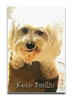 Keep Smilin' Poster by Brian D Meredith