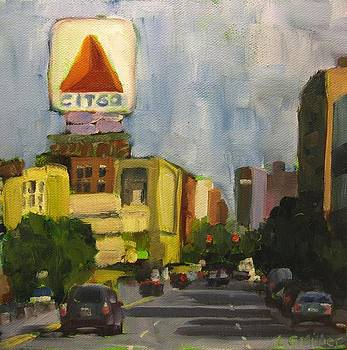 Kenmore Square by Laurie G Miller