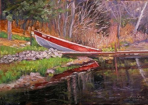 Kenney's Boat by Dale Knaak