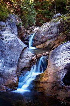 Kent Falls by Robert Mirabelle