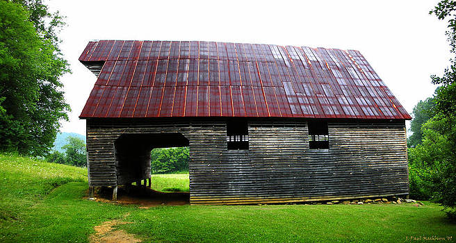Paul Mashburn - Kermit Caughron Barn