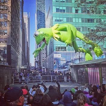 Kermit! #macysparade #nyc by John De Guzman