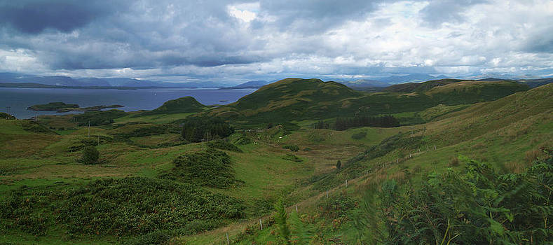 Kerrera and The Firth Of Lorn  by Steve Watson