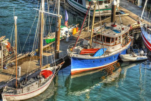 Ketchikan Harbor by Don Mennig