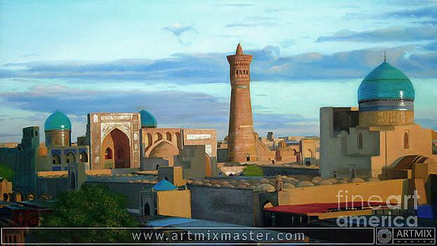 Khiva Uzbekistan by Sohib Razzakov