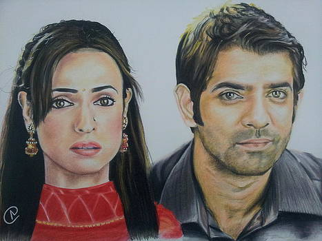 Khushi And Arnav  by Akshay Nair