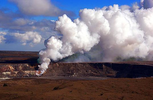 Kilauea Hawaii day by Ed Fenwick