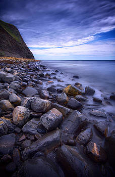 Kimmeridge Bay looking East by Mark Leader