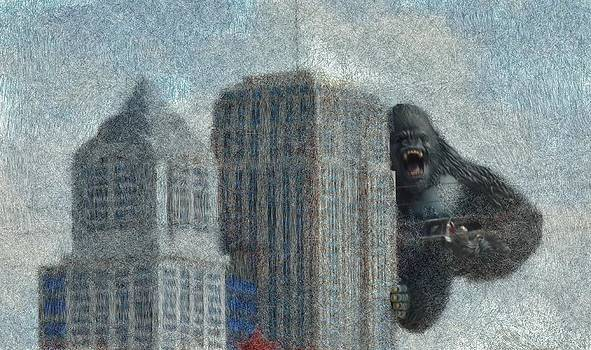 King Kong by Mark Stidham