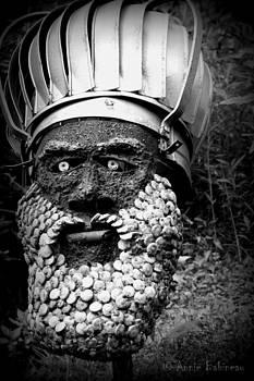 Anne Babineau - king of the garden