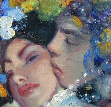 Kiss by Svetlana Tiourina