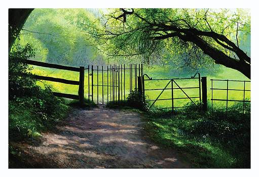 Kissing Gate by Helen Parsley