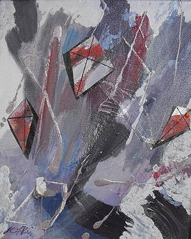 Lorraine Riess - Kites in the Storm
