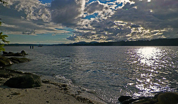 Kitsap Sunset 1  by Seth Shotwell