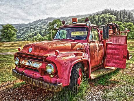 Gregory Dyer - Klamath Old Fire Truck