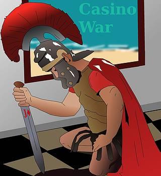 Knight in Shining Armor by Casino Artist