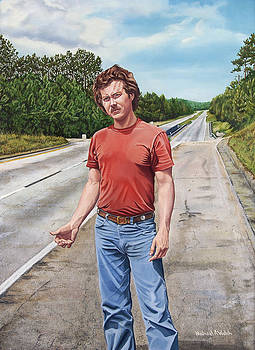 Knuckle Road-the hitchhiker by Michael Welch