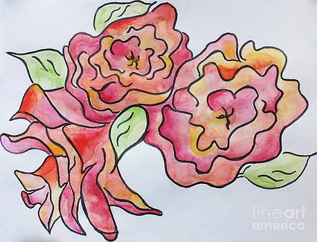 Kodachrome Rose by Caroline Ferrante