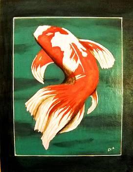 Koi Fish by Edwin Alverio