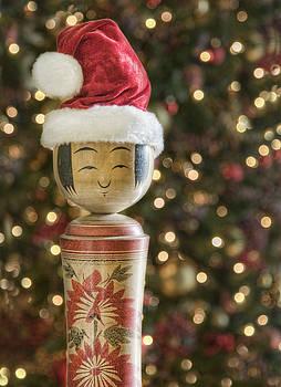 Kokeshi Christmas by Karen Walzer