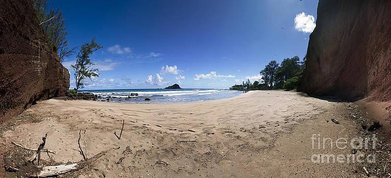 Koki Beach Hana Maui Hawaii Panoramic by Dustin K Ryan