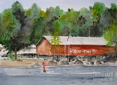 Kon tiki Marina Lake Simcoe by Ronald Tseng