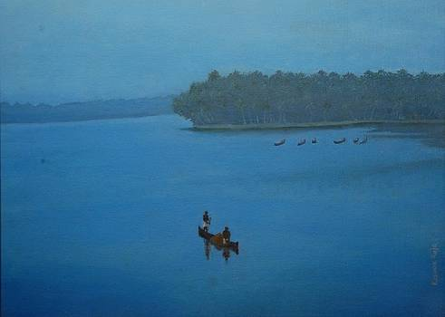 KR 365  Kerala River by Kishor Raja