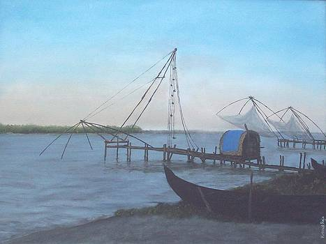 KR 386 Chinese fishing net by Kishor Raja